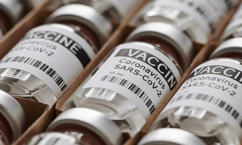 Coronavirus vaccine stock management