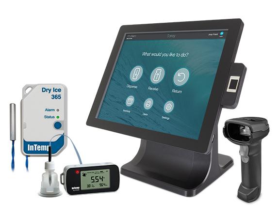 AccuShelf & vaccine temperature monitors